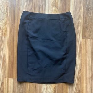 Worthington Black Pencil Skirt 10 Petite